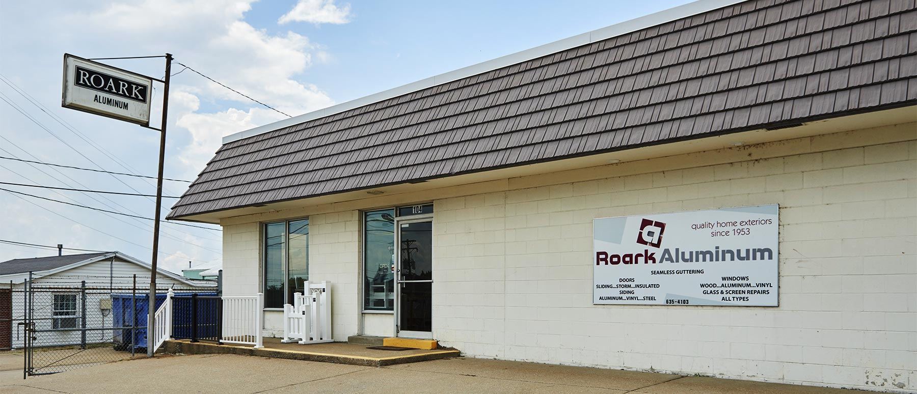 Roark Aluminum Building - Jefferson City